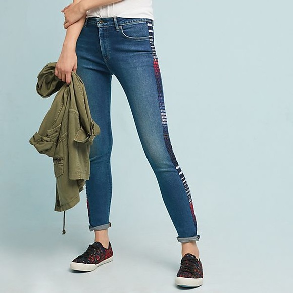 Levi's Denim - NWT Levi's 721 High Rise Embroidered Skinny Jean